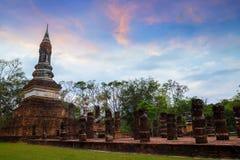 Wat Tra Phang Ngoen Temple på historiska Sukhothai parkerar, Thailand Royaltyfri Fotografi