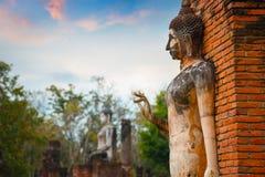 Wat Tra Phang Ngoen Temple på historiska Sukhothai parkerar, Thailand Royaltyfri Bild
