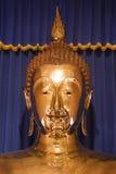 Wat Trai Mit Gouden Boedha in Bangkok, Thailand. Stock Afbeeldingen