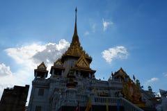 Wat Traimit在金黄菩萨BangkokTemple在唐人街 库存照片