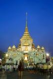 Wat Traimit Royaltyfria Foton