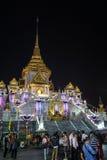 Wat Traimit obraz royalty free