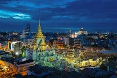 Wat Traimit. In Bangkok  Thailand Royalty Free Stock Images
