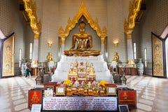 Wat Traimit, Bangkok Stock Photo