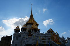 Wat Traimit in BangkokTemple von goldenem Buddha in Chinatown Stockfoto