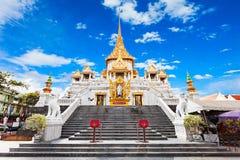 Wat Traimit, Banguecoque foto de stock