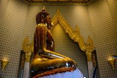 Wat Traimit Buddhist Temple en Bangkok, Tailandia fotos de archivo libres de regalías