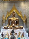 Wat Traimit en Bangkok imagen de archivo libre de regalías