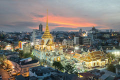 Wat Traimit In Bangkok, Thailand Royalty Free Stock Image