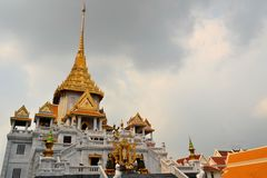 Wat Traimit temple in Chinatown, Bangkok, Thailand Royalty Free Stock Image