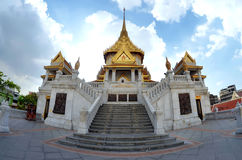Wat Traimit w Bangkok, Tajlandia Zdjęcia Stock