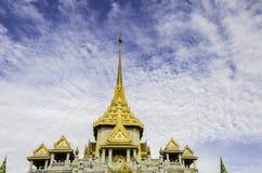 Wat Trimit, Banguecoque, Tailândia Famoso para seu gigantesco Foto de Stock Royalty Free