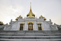 Wat Trimit (Trimit tempel), Bangkok, Thailand Arkivbilder