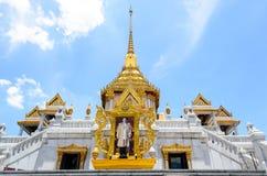 Wat Trimitr Vityaram Voravihahn, świątynia Złoty Buddha Fotografia Stock