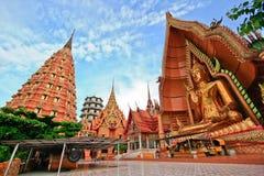 wat tum Таиланда sua kanchanaburi Стоковое Изображение