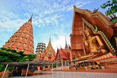 Wat tum sua in kanchanaburi, thailand. Place of worship Stock Image