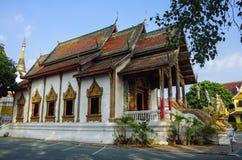 Wat Tung Yu is a small Buddhist monastery near Wat Phra Singh, Stock Image