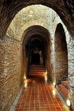 Caverne di Wat U Mong Immagini Stock Libere da Diritti
