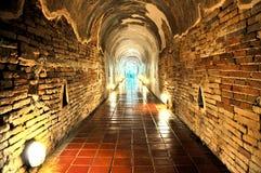 Caverne di Wat U Mong Fotografia Stock Libera da Diritti