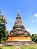 Wat U-mong (Tunnel temple) in Chiangmai Royalty Free Stock Images