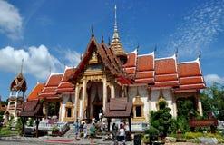 wat ubosot phuket Таиланда chalong Стоковое Фото