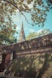 Wat Umong Suan Puthatham é um templo budista das pessoas de 700 anos no Ch Fotografia de Stock