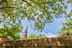 Wat Umong Suan Puthatham é um templo budista das pessoas de 700 anos no Ch Foto de Stock