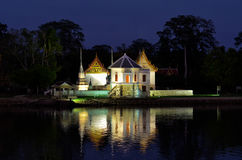 Wat Uposatharam Foto de Stock Royalty Free