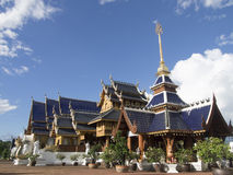 Wat verbod-Hol in Chaing-MAI Thailand Stock Foto's