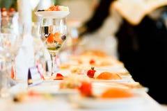 WAT vis in het wijnglas Royalty-vrije Stock Afbeelding