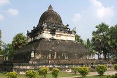 Wat Visoun Stupa i Luang Prabang Royaltyfri Foto