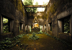 Wat Wang Wiwekaram佛教寺庙 免版税图库摄影