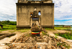 Wat Wang Wiwekaram old temple thailand Royalty Free Stock Images