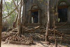 Wat Wang Wiwekaram på Sangklaburi, Kanchanaburi Thailand - Maj, 06, 2016 Royaltyfri Fotografi