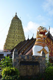 Wat WANG Wiwekaram Sangkhlaburi Kanchanaburi Ταϊλάνδη Στοκ Εικόνες