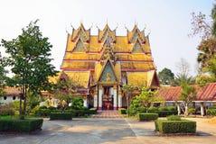Wat Wang Wiwekaram. In Sangkhlaburi,Thailand Stock Photo