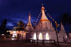 Wat Wat Phra That Doi Kong MU Images stock