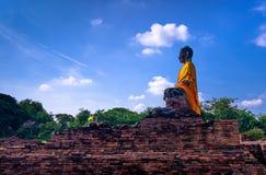 Wat-wat-worachettharam ayutthaya, Ταϊλάνδη Στοκ Εικόνες
