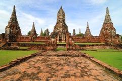 Wat Wattanaram, Ayutthaya, Thailand Royalty Free Stock Photos