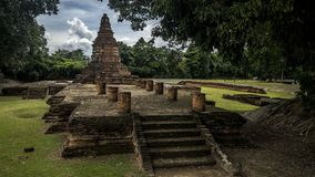 Wat Wiang Kum Kam, Chiang Mai, Tajlandia Fotografia Stock