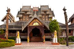 Wat wood of chingcom thailand Royalty Free Stock Photography