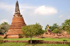 Wat Wora Chet Tha公羊 免版税图库摄影