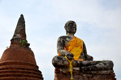 Wat Worachet Tharam temple at Ayutthaya, Thailand Stock Photos