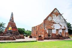 Wat Worachetha Ram, Ayutthaya, Tailândia Foto de Stock Royalty Free