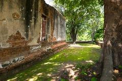 Wat Worachetharam Ayuthaya Tajlandia Obrazy Royalty Free