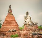 Wat Worachetharam. Ayutthaya Stock Photo