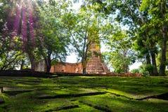 Wat Worachetharam de Ayuthaya Tailandia imagen de archivo