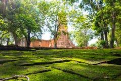 Wat Worachetharam von Ayuthaya Thailand Lizenzfreie Stockfotos