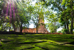 Wat Worachetharam von Ayuthaya Thailand Stockbild