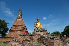 Wat Worachettharam Royalty-vrije Stock Afbeelding